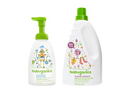 BabyGanics Foaming Dish and Bottle Soap with Laundry Detergent