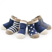 4 PCS Baby boneless 100% cotton socks, unisex, M