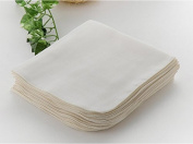 Baby Washcloth,100% Organic Cotton Baby Handkerchief 10 Pcs Gauze