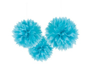 S-shine 41cm Poms Large Fluffy Pom Pom Hanging Decorations Tissue Paper Pom Flowers For Celebrate Decoration Fluffy Hanging Lantern Party/Wedding Blooms Ball