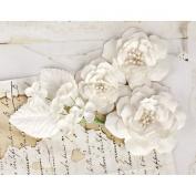 Prima Marketing 655350566784 Cabriole Scrapbooking Embellishments, White