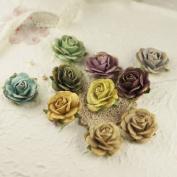 Prima Marketing 655350549022 Sugar Blooms Collection Botanical Scrapbooking Embellishments