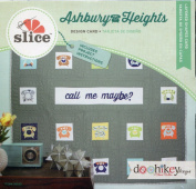Slice Ashbury Heights Layered Shapes Card