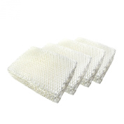 HQRP 4-Pack Wick Filter for Kenmore 32-14911; Canadian Kenmore 29973, 29975, 29985, 29986, 29987, 29614, 29802 Humidifier + HQRP Coaster