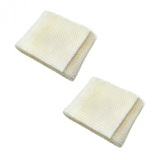 HQRP 2-pack Wick Filter for Kenmore 14410, 14411, 15421, 29979, 29980, 29981, 29982, 03215412000 Humidifier + HQRP Coaster