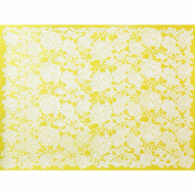 Rose Damask Silicone Lace Mat by Chef Alan Tetreault
