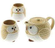 1:2 Kizeto Owl Ceramic Tea Set