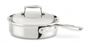 All-Clad D7 Shallow Sauce pan with domed lid