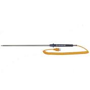 Digi-Sense Type-K Gen-Purpose Heavy-Duty Probe Mini Conn 30cm L GRD 1.5m Coil Cord