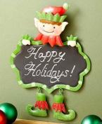 Festive Holiday Elf Chalkboard - 23cm X 30cm