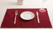 Best Token 4-piece Soft and Absorption Placemats Coaster Table Mats Pad for Kitchen Dining Room