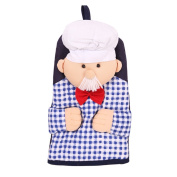 OLizee™ Pack of One Cute Doll Thickening Kitchen Insulated Microwave Oven Glove Mitt