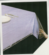 Clear Heavy Duty Vinyl Tablecloth Protector, Oblong 180cm X 320cm Deluxe Collection