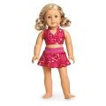 American Girl Berry Skirtini Swim Suit for 46cm Dolls Bikini NEW