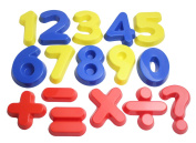Number and Math Operator Sand Moulds - Sand Toy, Beach Toy, Sandbox Toy, Wet Sand Sensory Bin