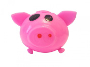 Splat Ball Novelty Squishy Toy Pink Pig