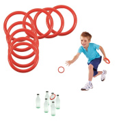 Toy Cubby's Ring Toss Ring-a-bottle Game Set, 6.4cm , 24 Pcs