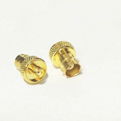 2pcs best seller RF coaxial coax adapter SMA female to BNC female goldplated straight