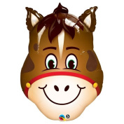 PIONEER BALLOON COMPANY 16210 Hilarious Horse Shop Balloon Pack, 80cm