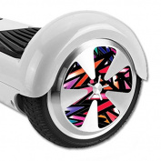 MightySkins Protective Vinyl Skin Decal for Hoverboard Balance Board Scooter Wheels mini board unicycle bluetooth wrap cover sticker Colour Bomb