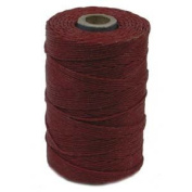 Irish Waxed Linen Cord 4 Ply 1 Spool COUNTRY RED 420005