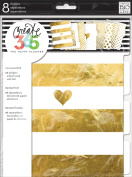me & my BIG ideas DIV-01 Create 365 The Happy Planner Gold Foil Dividers