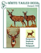Pegasus Originals White Tailed Deer Counted Cross Stitch Chartpack