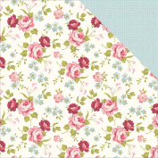 Kaisercraft Secret Garden Double, Sided Cardstock, 10 Sheets, 30cm by 30cm , Roses