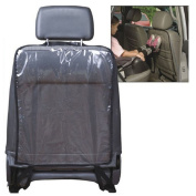 Lookatool Car Auto Seat Back Protector Cover For Children Kick Mat Mud Clean BK