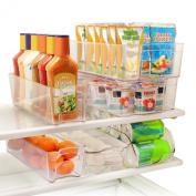 Greenco 6-Piece Fridge and Freezer Storage Bins