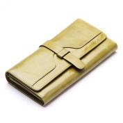Minetom Fashion Polyurethane Leather PU Leather Wallet Women Long Style Purse Bag ID Credit Card Holder Coin Purses