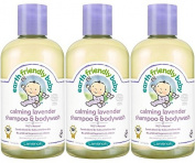 (3 PACK) - Earth Friendly Baby - Lavender Shampoo - Ecocert | 250ml | 3 PACK BUNDLE