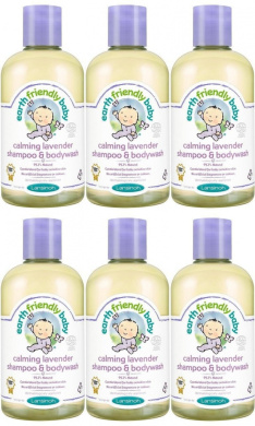 (6 PACK) - Earth Friendly Baby - Lavender Shampoo - Ecocert | 250ml | 6 PACK BUNDLE