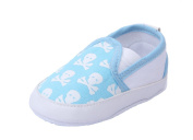 YICHUN Baby Soft Shoes Prewalker Leisure Shoes Crib Shoes Skull Toddler Sole Shoes