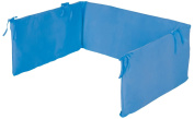 Pinolino Jersey Cot Bumper with Zipper for Cot Bed