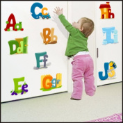 Alphabet, Letters wall Stickers Kids Children Room Wall Stickers Decal Wall Art 915