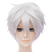 Unisex Cosplay Party Wigs Short Haircut Anime Resistant Fibre New Hair Full