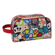 Tsum Tsum Adaptable Vanity/ Beauty Case with Two Compartments, 26 cm, 4.99 Litres, Multicolour