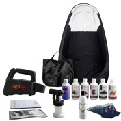 Maximist 'MEGA' SprayMate TNT - Complete spray tan kit with black tent & much more - all you need to get started!