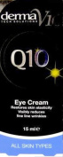SIX PACKS of Derma V10 Q10 Tech Solutions Eye Cream 15ml