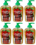 (6 PACK) - Faith in Nature - Pomegranate & Rooibos Handwash | 300ml | 6 PACK BUNDLE