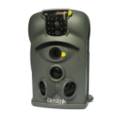 Bestok Ltl-8210A HD 120 Degree Wide Angle Lens IP54 Waterproof Outdoor Digital Infrared Hunting Game Camera for Scouting Widelife/Home Security with IR Night Vision + 8GB SD Memeory Card