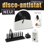 Knosti Disco Antistat Vinyl Record Cleaning Machine Cleaner Kit (Generation 2) New 2016 Version