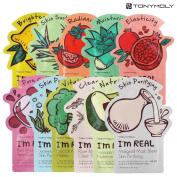 Tonymoly I'm Real Skin Care Facial Mask Sheet Package