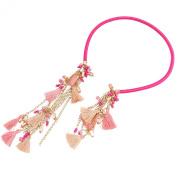 New Women's Jewellery Necklace Tassel Pendant Leather Rope Chain Fashion Necklace