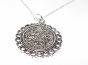 Fine Pendant 1956 Lucky sixpence 60th Birthday plus a Sterling Silver 46cm Chain