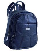 Stefano leather backpack rucksack Women's Handbag Bag Black