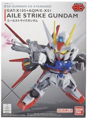 Action Figure - Bandai Hobby - SD EX-Standard Aile Strike Gundam ban196728