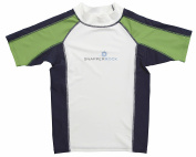 Snapper Rock Boy & Girl UPF 50+ UV Protection Short Sleeve Swim Shirt For Kids & Teens