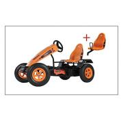 Berg Toys 07.90.01.00 Gokart X-Cross BFR + pillion seat